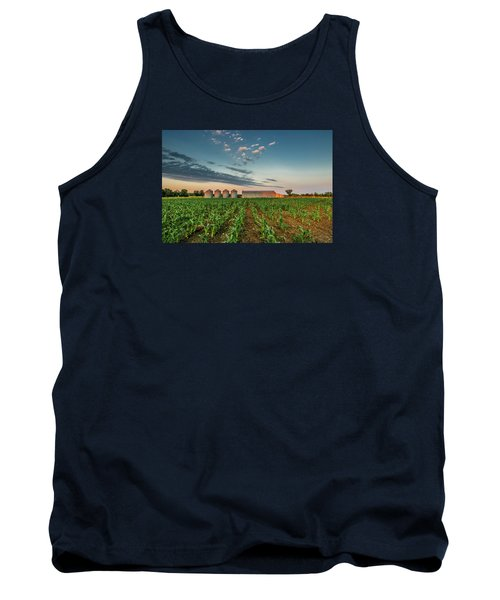 Knee High Sweet Corn Tank Top