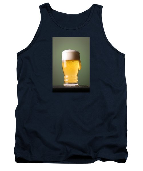 Lager Beer Tank Top by Silvia Bruno