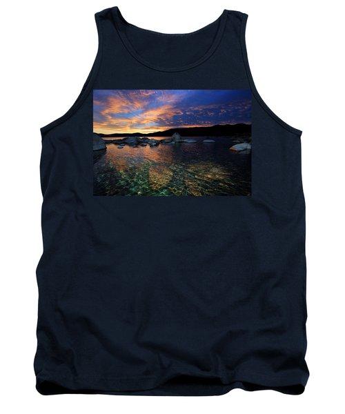 Lake Tahoe Sundown Tank Top