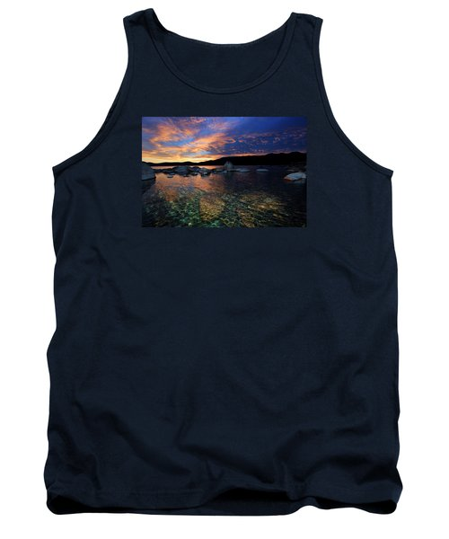 Lake Tahoe Sundown Tank Top