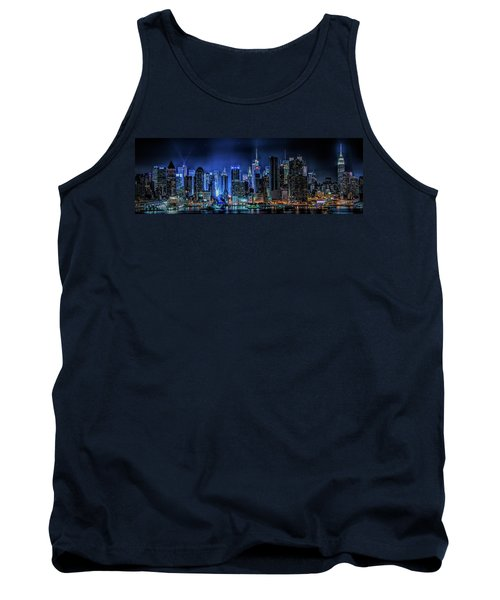 Tank Top featuring the photograph Land Of Tall Buildings by Theodore Jones