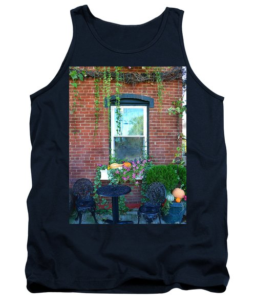 Lanier Winery Bistro Table Tank Top