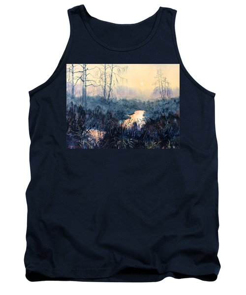 Last Light On Skipwith Marshes Tank Top