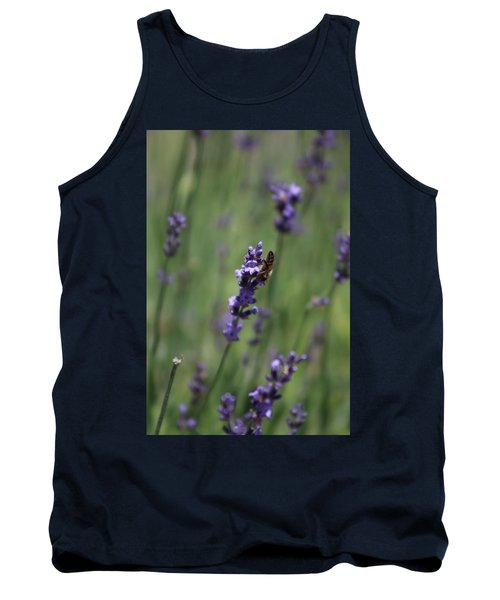 Lavender And Honey Bee Tank Top