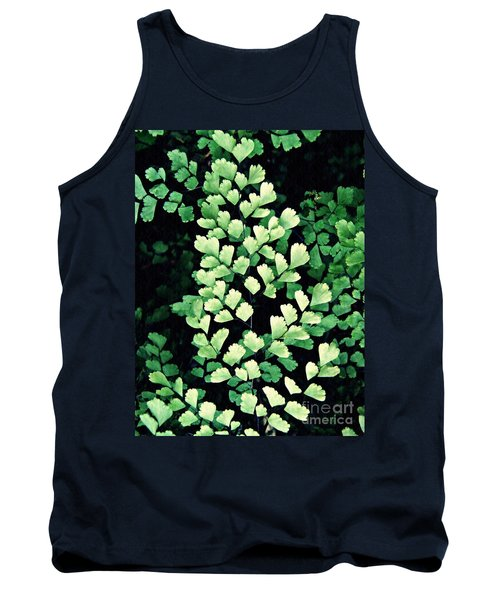 Leaf Abstract 15 Tank Top by Sarah Loft