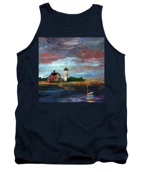 Tank Top featuring the painting Let There Be Light by Michael Helfen