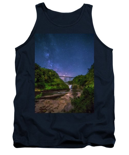 Letchworth At Night Tank Top
