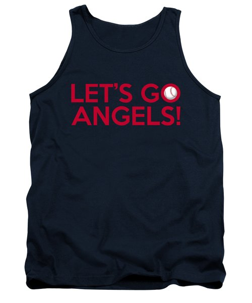 Let's Go Angels Tank Top