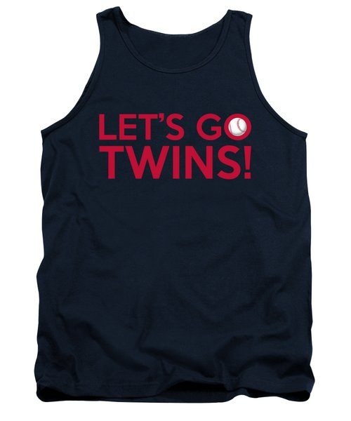 Let's Go Twins Tank Top