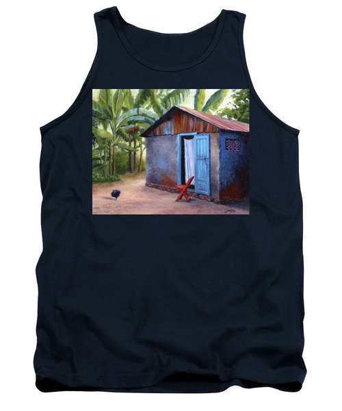 Life In Haiti Tank Top by Janet King