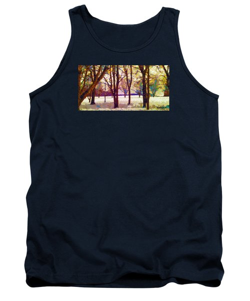 Life In The Dead Of Winter Tank Top by Gustav James