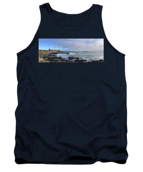Lighthouse And Coastview Tank Top