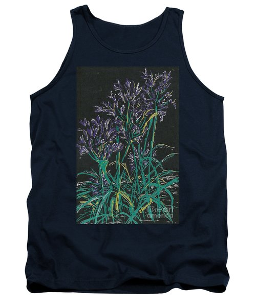 Tank Top featuring the mixed media Lily Of The Nile  by Vicki  Housel