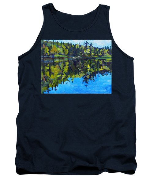 Little Clear Morning Tank Top