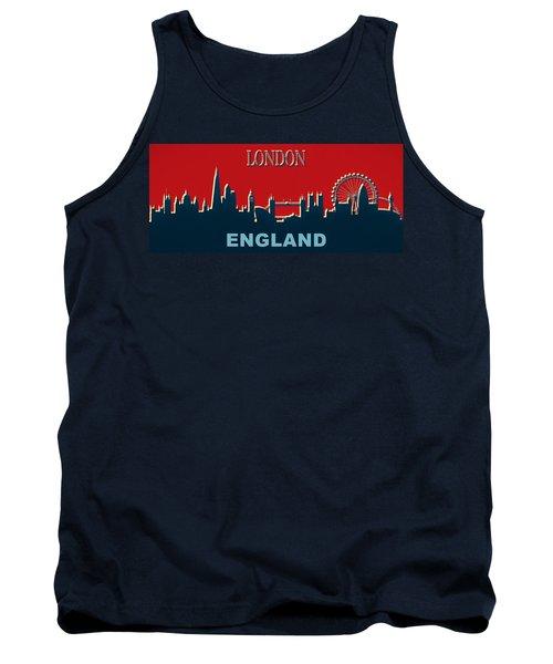 London England Skyline Tank Top