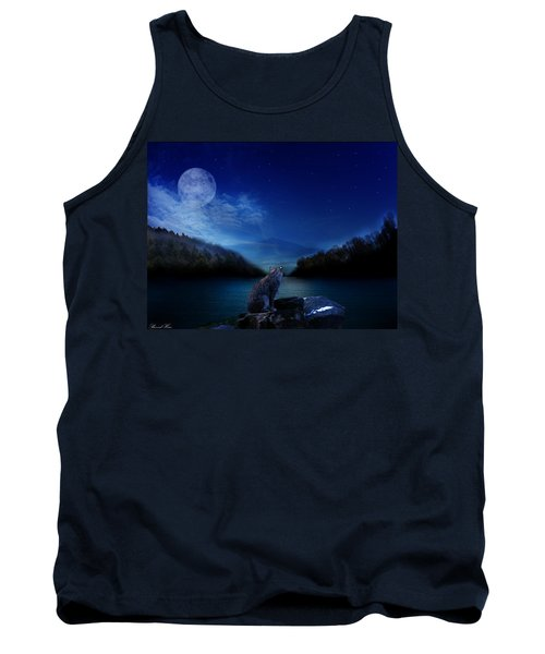 Lonely Hunter Tank Top by Bernd Hau