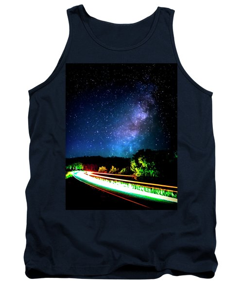 Tank Top featuring the photograph Lonesome Texas Highway by David Morefield