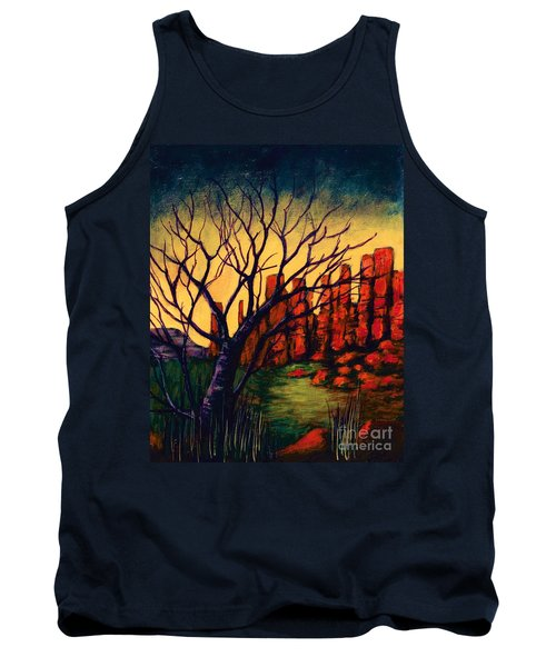 Lonesome Tree  Tank Top