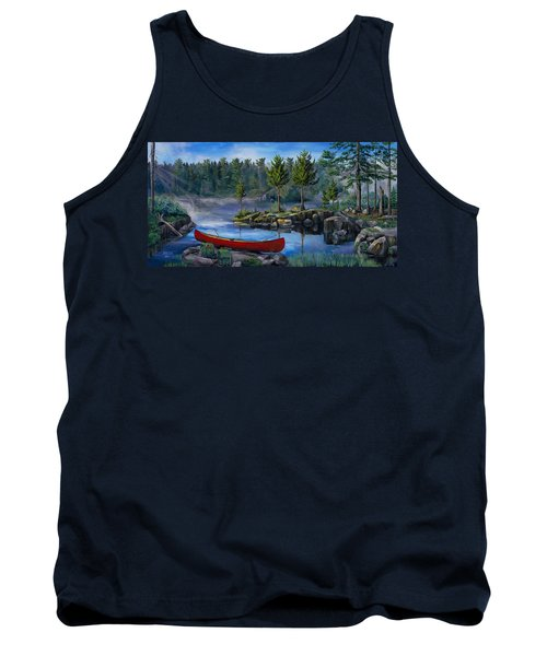 Lost In The Boundary Waters Tank Top
