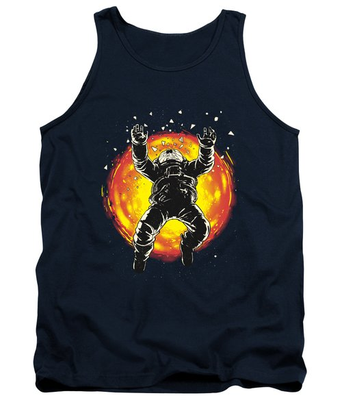 Lost In The Space Tank Top by Carbine