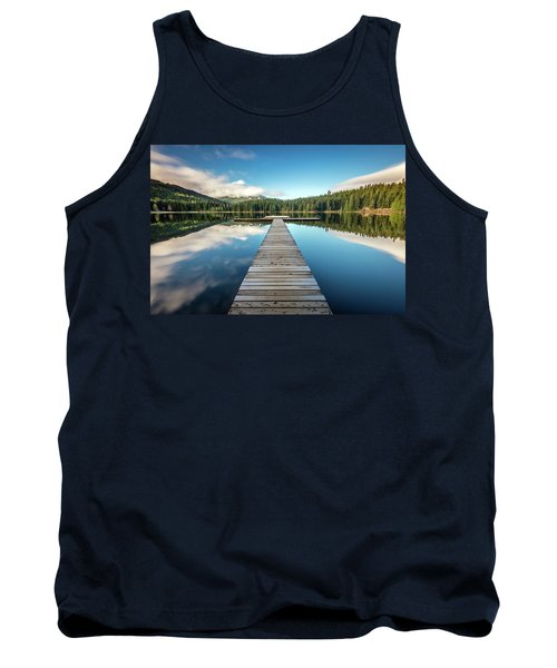 Tank Top featuring the photograph Lost Lake Dream Whistler by Pierre Leclerc Photography
