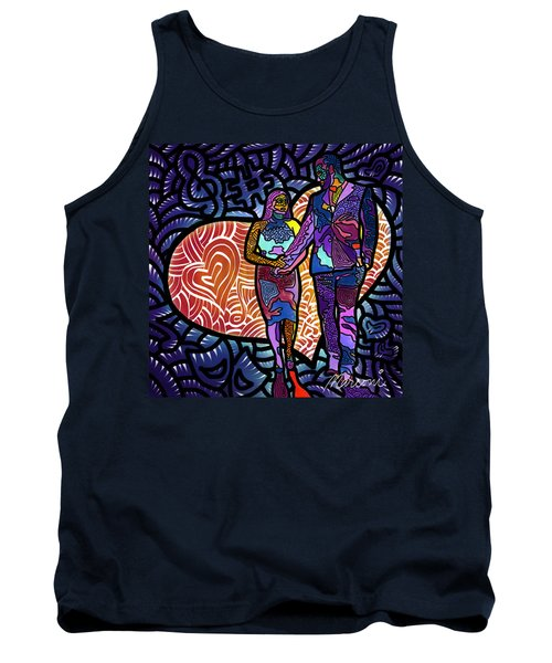 Love On High Notes Tank Top