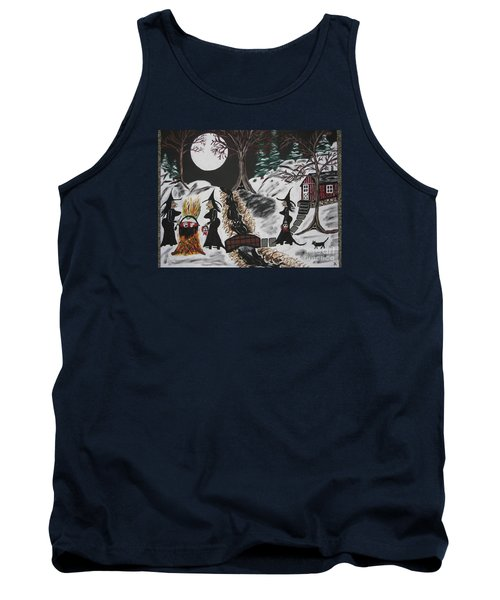 Tank Top featuring the painting Lunch by Jeffrey Koss