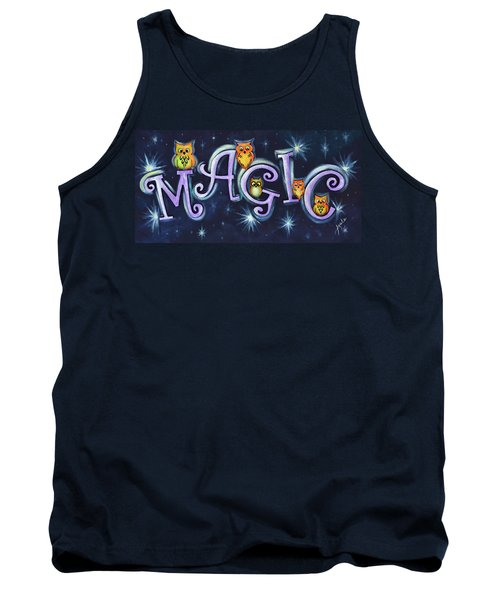 Magic With Owls Tank Top