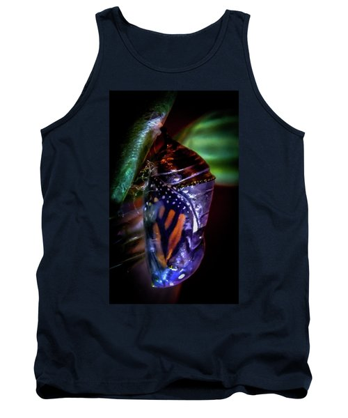Magical Monarch Tank Top by Karen Wiles