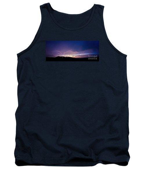 Magnificent Sunset Lightning Tank Top