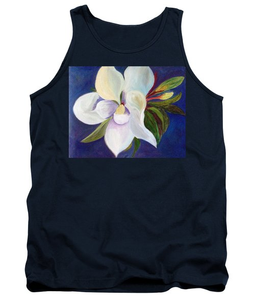 Magnolia Painting Tank Top