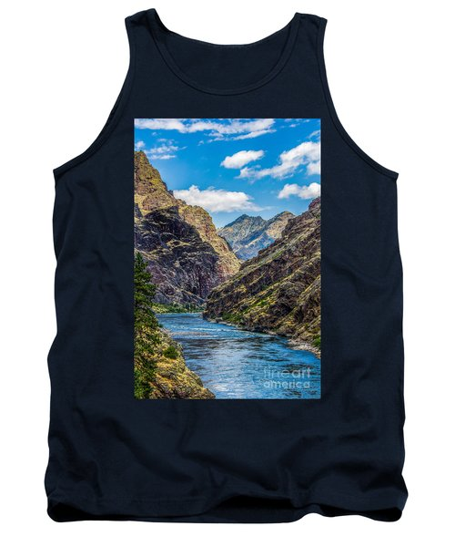 Majestic Hells Canyon Idaho Landscape By Kaylyn Franks Tank Top