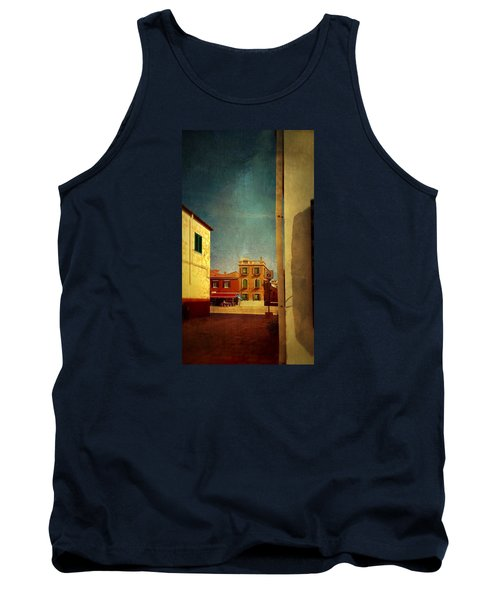 Tank Top featuring the photograph Malamocco Glimpse No1 by Anne Kotan