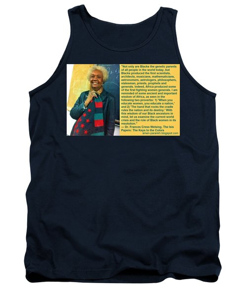 Mama Frances Cress Welsing Tank Top