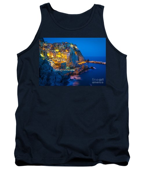 Manarola By Night Tank Top