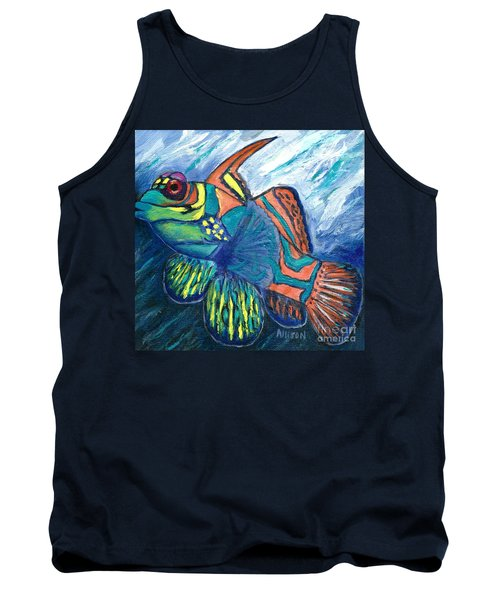 Mandarinfish Tank Top