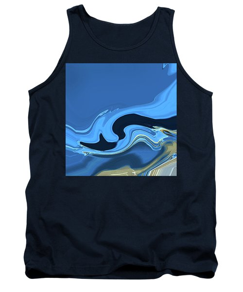 Marbled Tank Top