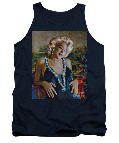 Marilyn Monroe 126 Monalisa Tank Top
