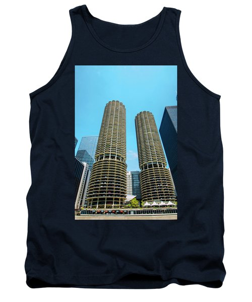 Marina City Chicago Tank Top