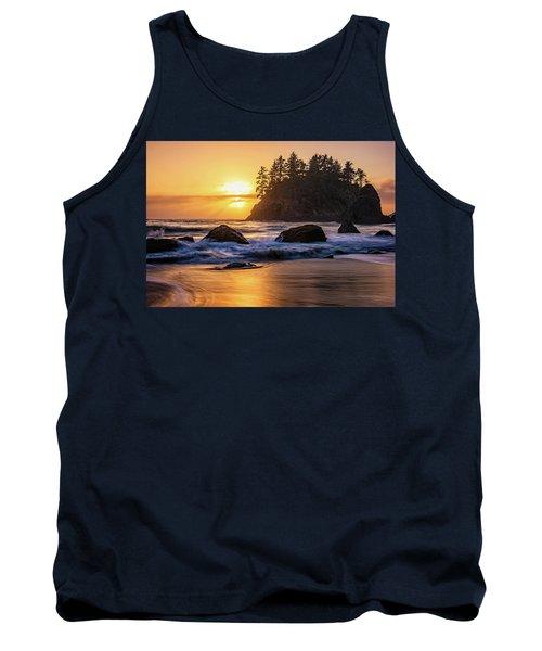 Marine Layer Sunset At Trinidad, California Tank Top