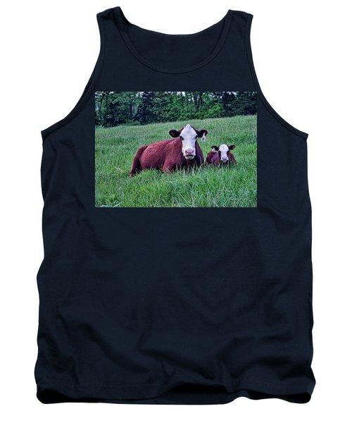 Tank Top featuring the photograph Matched Set by Cricket Hackmann