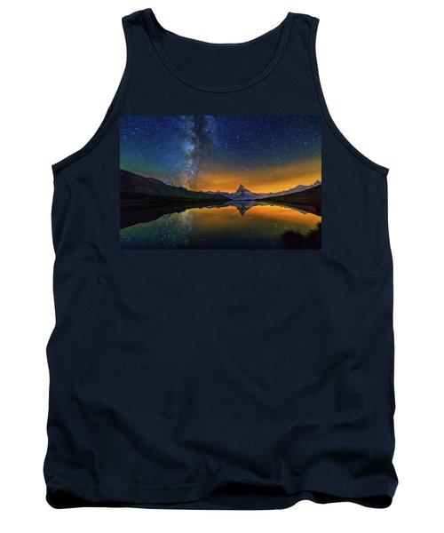 Matterhorn By Night Tank Top