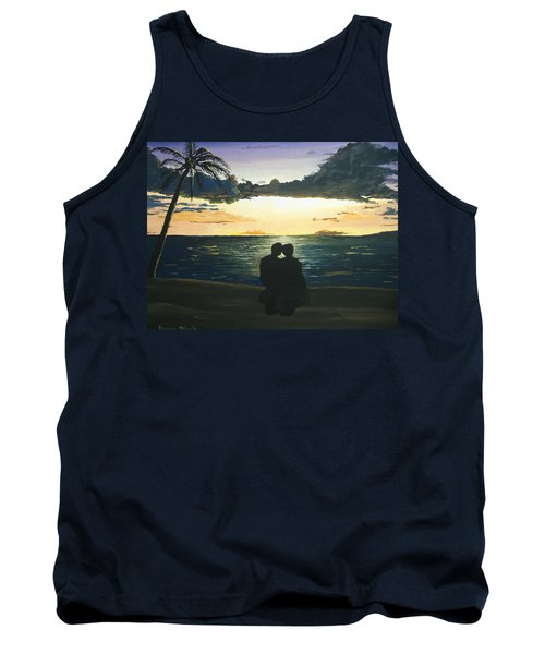 Maui Beach Sunset Tank Top by Norm Starks