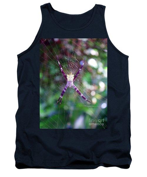 Maui Orbweaver/garden Spider Tank Top by Gena Weiser