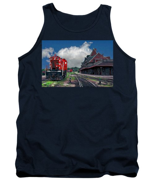 Mcadam Train Station Tank Top
