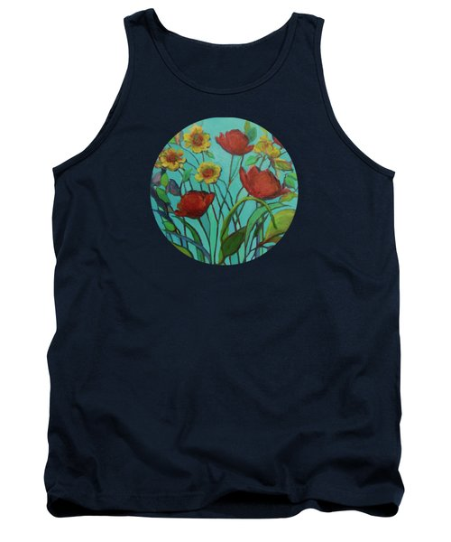 Memories Of The Meadow Tank Top by Mary Wolf