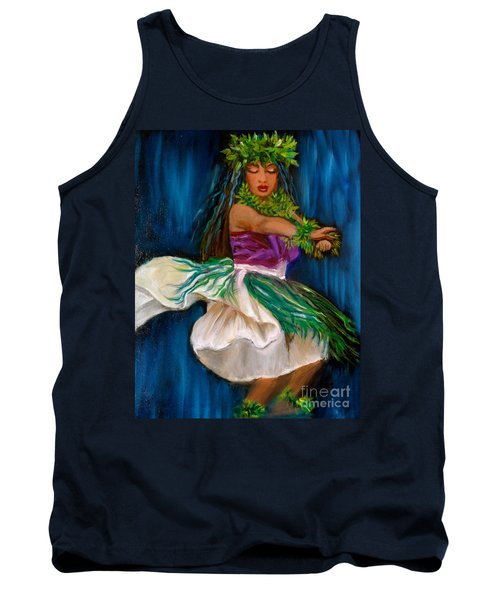 Merrie Monarch Hula Tank Top