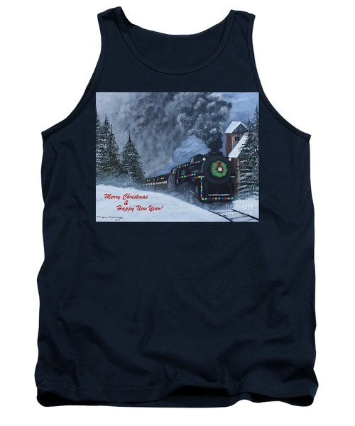 Merry Christmas Train Tank Top