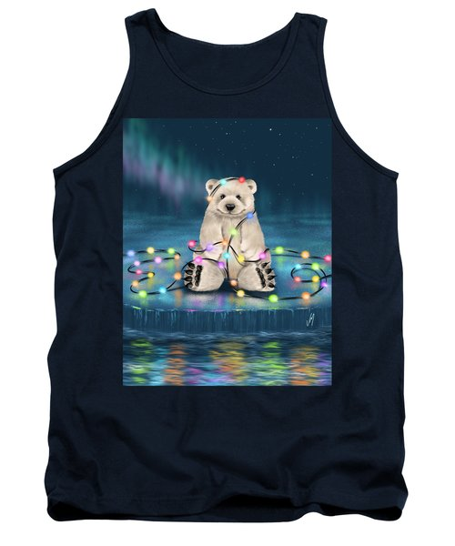 Tank Top featuring the painting Merry Christmas  by Veronica Minozzi