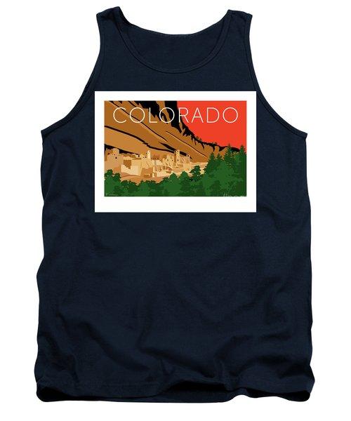 Mesa Verde Orange Tank Top